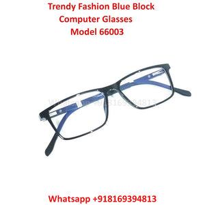 Trendy Fashion Anti Blue Light Computer Glasses TR66003C1