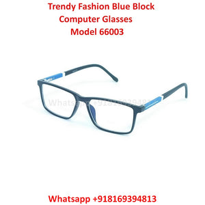 Trendy Fashion Blue Light Glasses for Men and Women TR66003C3