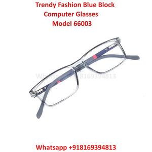 Trendy Fashion Blue Light Glasses for Men and Women TR66003C7