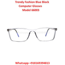 Load image into Gallery viewer, Trendy Fashion Blue Light Glasses for Men and Women TR66003C7