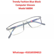 Load image into Gallery viewer, Trendy Fashion Blue Light Glasses for Men and Women TR66004C7