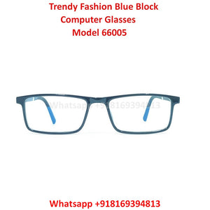 Trendy Fashion Blue Light Glasses for Men and Women TR66005C1