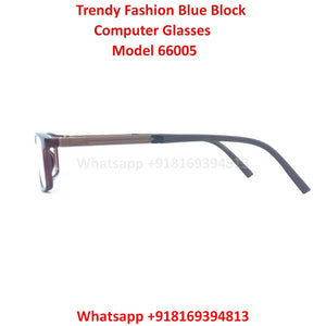 Trendy Fashion Blue Light Glasses for Men and Women TR66005C5