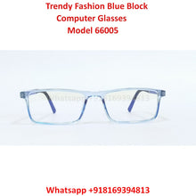 Load image into Gallery viewer, Trendy Fashion Blue Light Glasses for Men and Women TR66005C8