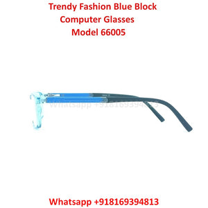 Trendy Fashion Blue Light Glasses for Men and Women TR66005C8