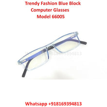 Load image into Gallery viewer, Trendy Fashion Anti Blue Light Computer Glasses TR66005C8