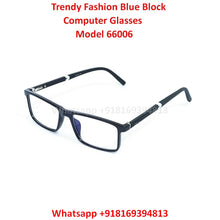 Load image into Gallery viewer, Trendy Fashion Anti Blue Light Computer Glasses TR66006C1