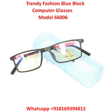 Load image into Gallery viewer, Trendy Fashion Anti Blue Light Computer Glasses TR66006C2