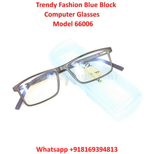 Load image into Gallery viewer, Trendy Fashion Blue Light Glasses for Men and Women TR66006C6