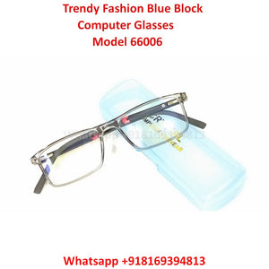 Trendy Fashion Blue Light Glasses for Men and Women TR66006C7
