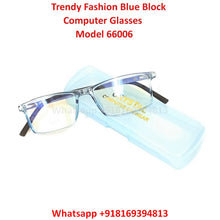 Load image into Gallery viewer, Trendy Fashion Blue Light Glasses for Men and Women TR66006C8