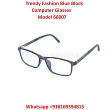 Load image into Gallery viewer, Trendy Fashion Anti Blue Light Computer Glasses TR66007C5