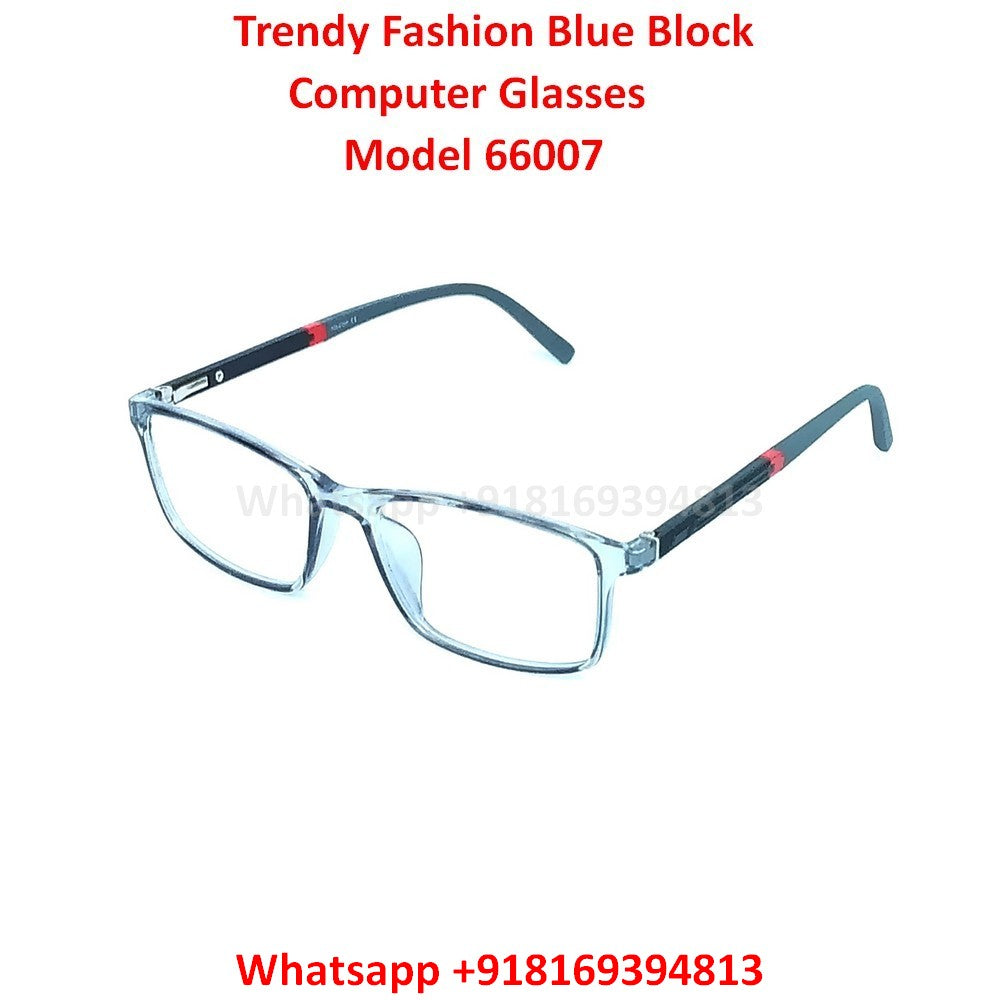 Trendy Fashion Anti Blue Light Computer Glasses TR66007C7
