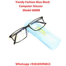 Load image into Gallery viewer, Trendy Fashion Anti Blue Light Computer Glasses TR66008C1