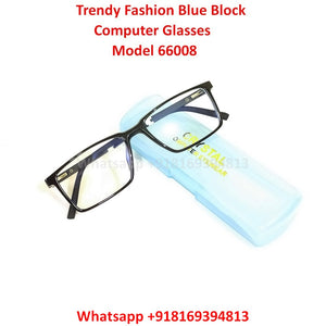 Trendy Fashion Anti Blue Light Computer Glasses TR66008C1