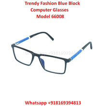Load image into Gallery viewer, Blue Light Glasses for Men and Women TR66008C3