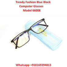 Load image into Gallery viewer, Trendy Fashion Blue Light Glasses for Men and Women TR66008C3