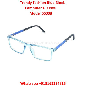 Blue Light Glasses for Men and Women TR66008C8