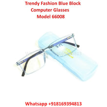 Load image into Gallery viewer, Trendy Fashion Blue Light Glasses for Men and Women TR66008C8
