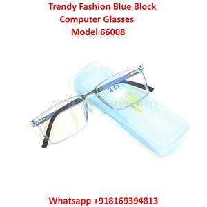 Trendy Fashion Blue Light Glasses for Men and Women TR66008C8