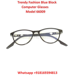 Trendy Fashion Anti Blue Light Computer Glasses TR66009C1