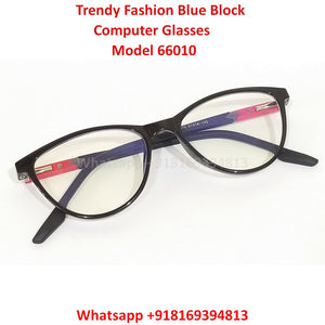 Trendy Fashion Blue Light Glasses for Men and Women TR66010C2