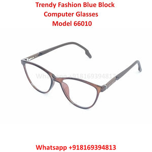 Trendy Fashion Anti Blue Light Computer Glasses TR66010C5