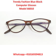 Load image into Gallery viewer, Trendy Fashion Anti Blue Light Computer Glasses TR66010C5