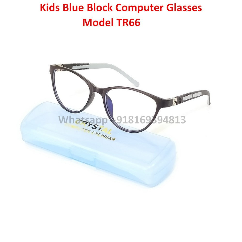 Trendy Fashion Anti Blue Light Kids Computer Glasses TR66C5