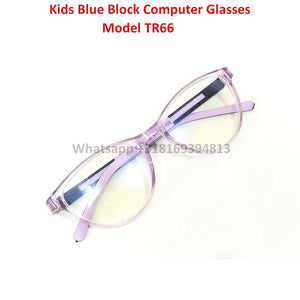 Trendy Fashion Blue Light Glasses for Kids Computer Glasses TR66C8