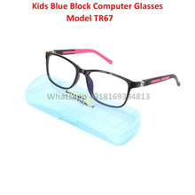 Load image into Gallery viewer, Trendy Fashion Anti Blue Light Kids Computer Glasses TR67C1