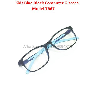 Trendy Fashion Anti Blue Light Kids Computer Glasses TR67C2