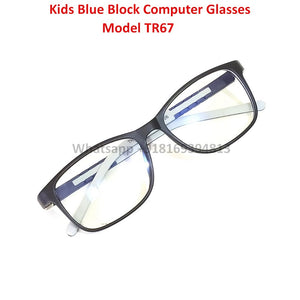 Trendy Fashion Anti Blue Light Kids Computer Glasses TR67C5
