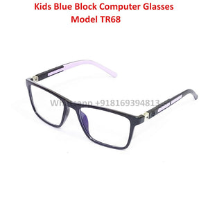 Trendy Fashion Anti Blue Light Kids Computer Glasses TR68C3