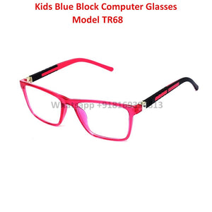 Trendy Fashion Blue Light Glasses for Kids Computer Glasses TR68C6