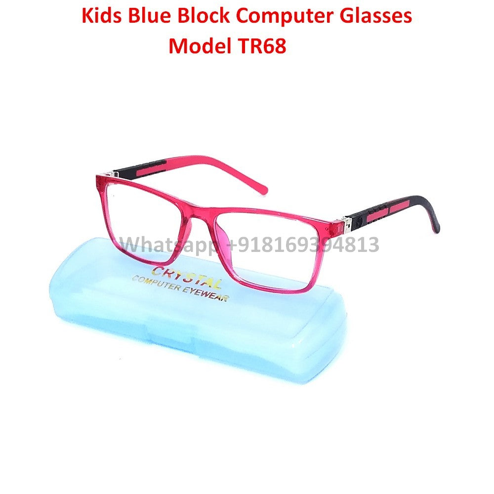 Blue Light Glasses for Kids TR68C6