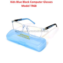 Load image into Gallery viewer, Trendy Fashion Anti Blue Light Kids Computer Glasses TR68C7