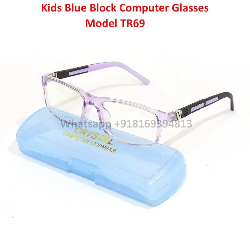 Trendy Fashion Anti Blue Light Computer Glasses TR69C8