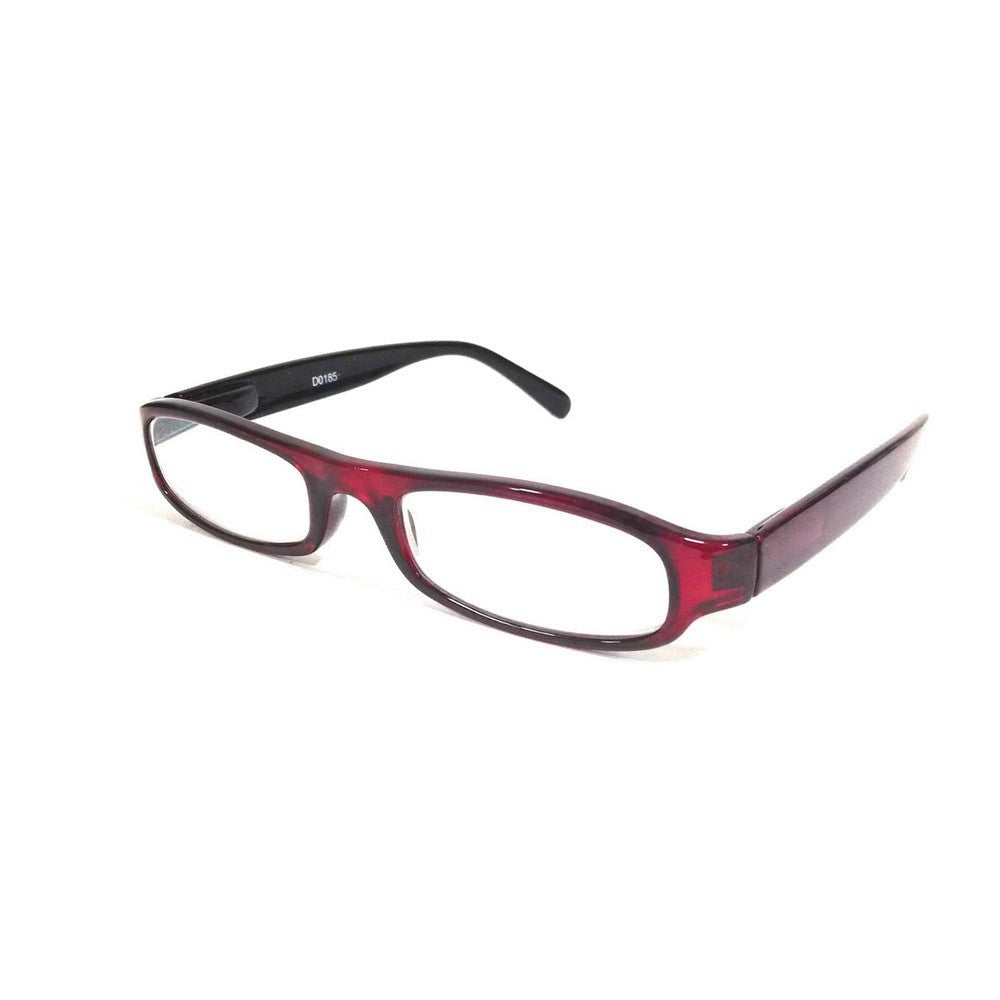 Red Computer Glasses with Anti Glare Coating D0185Rd