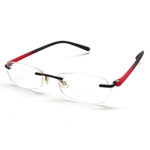Red Rimless Blue Light Blocker Computer Glasses F003RD