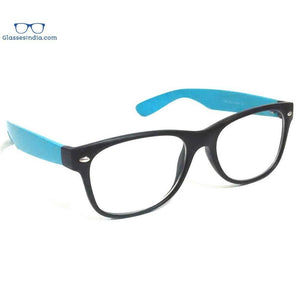 Black Computer Glasses with Anti Glare Coating F846BKBL