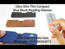Load and play video in Gallery viewer, Ultra Slim TR90 Blue Light Blocking Computer Reading Glasses for Men & Women