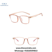 Load image into Gallery viewer, Transparent Pink Anti Blue Light Computer Glasses M8507 C5