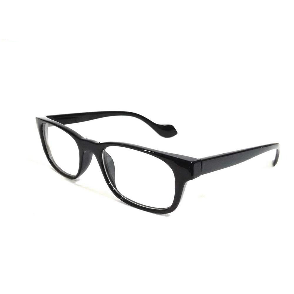 Black Computer Glasses with Anti Glare Coating J038BK