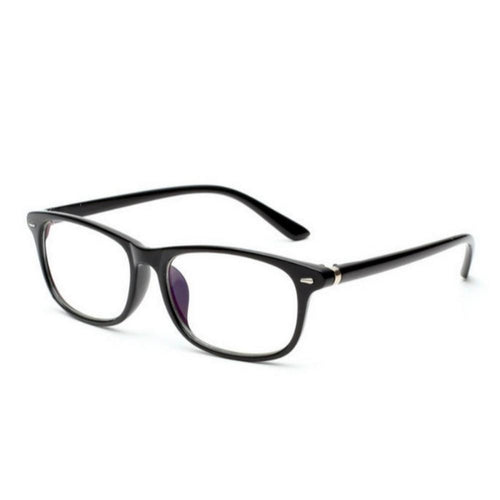 Blue Light Blocker Computer Glasses Anti Blue Ray Eyeglasses S111bk - GlassesIndia