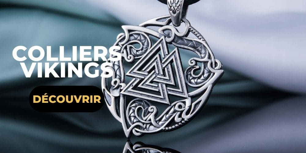 Colliers viking argent
