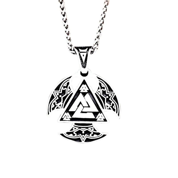 Collier Triangle Valknut | Horde Viking