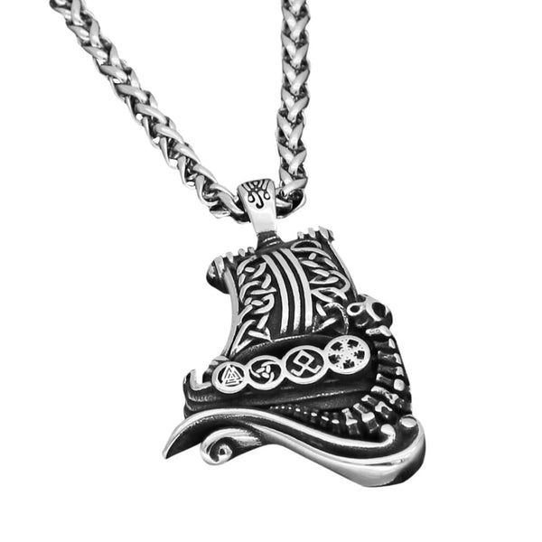 Collier Viking Drakkar