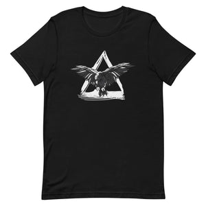 T-Shirt Viking Moulant Corbeau