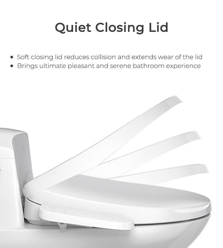mordeer b200 electronic bidet toilet seat with softclose lid